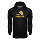 Under Armour Black Performance Sweats Team Hoodie-A w/ Trojans