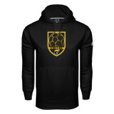 Under Armour Black Performance Sweats Team Hoodie-Soccer Shield