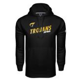 Under Armour Black Performance Sweats Team Hoodie-Softball Rising