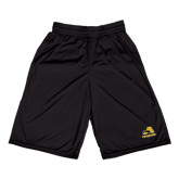 Russell Performance Black 9 Inch Short w/Pockets-A w/ Trojans