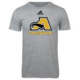 Adidas Sport Grey Logo T Shirt-A w/ Trojans