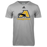 Adidas Climalite Sport Grey Ultimate Performance Tee-A w/ Trojans
