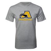 Grey T Shirt-A w/ Trojans