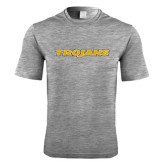 Performance Grey Heather Contender Tee-Trojans