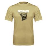 Performance Vegas Gold Tee-Basketball Hanging Net