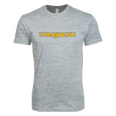 Next Level SoftStyle Heather Grey T Shirt-Trojans