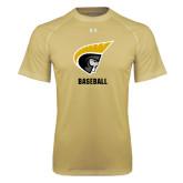Under Armour Vegas Gold Tech Tee-Baseball