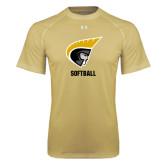 Under Armour Vegas Gold Tech Tee-Softball