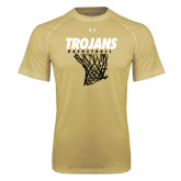 Under Armour Vegas Gold Tech Tee-Basketball Hanging Net