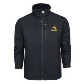 Columbia Ascender Softshell Black Jacket-A w/ Trojans