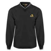 Black Executive Windshirt-A w/ Trojans