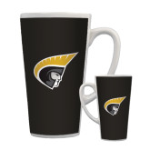 Full Color Latte Mug 17oz-Trojan Head
