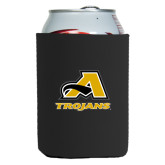 Neoprene Black Can Holder-A w/ Trojans