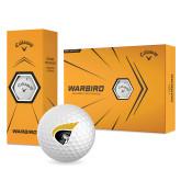 Callaway Warbird Golf Balls 12/pkg-Trojan Head