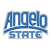 Medium Decal-Angelo State, 8 in wide