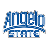 Large Decal-Angelo State, 12 in Wide