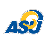 Small Decal-ASU, 6 in Wide