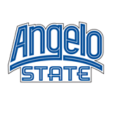 Small Decal-Angelo State, 6 in Wide