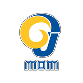 Mom Decal-Mom, 6 in Tall