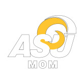Mom Decal-ASU Mom, 6 inches wide