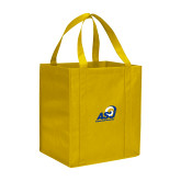 Non Woven Gold Grocery Tote-Primary Mark