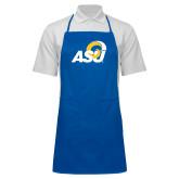 Full Length Royal Apron-ASU Logo