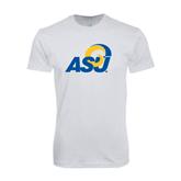 SoftStyle White T Shirt-ASU