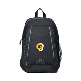 Impulse Black Backpack-Official Logo
