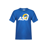 Youth Royal T Shirt-ASU