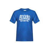 Youth Royal T Shirt-Angelo State