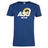 Ladies Royal T Shirt-ASU Mom