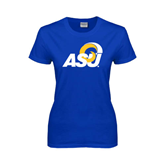 Ladies Royal T Shirt-ASU