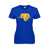 Ladies Royal T Shirt-Roscoe Ram