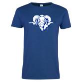 Ladies Royal T Shirt-Ram Head