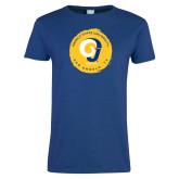 Ladies Royal T Shirt-Angelo State University Ram