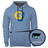 Contemporary Sofspun Carolina Heather Hoodie-Official Logo
