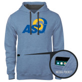 Contemporary Sofspun Carolina Heather Hoodie-ASU
