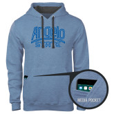 Contemporary Sofspun Carolina Heather Hoodie-Angelo State