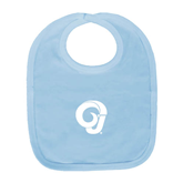 Light Blue Baby Bib-Official Logo