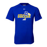 Under Armour Royal Tech Tee-Soccer Swoosh Design