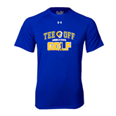 Under Armour Royal Tech Tee-Tee Off Golf Design