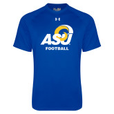 Under Armour Royal Tech Tee-ASU Football