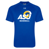 Under Armour Royal Tech Tee-ASU Baseball