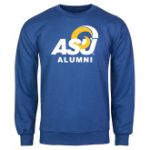 Royal Fleece Crew-ASU Alumni