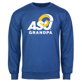 Royal Fleece Crew-ASU Grandpa