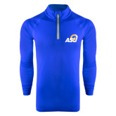 Under Armour Royal Tech 1/4 Zip Performance Shirt-ASU