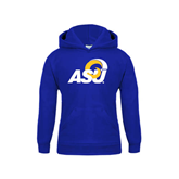 Youth Royal Fleece Hoodie-ASU
