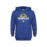 Youth Royal Fleece Hoodie-Rambelles Soccer
