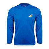 Syntrel Performance Royal Longsleeve Shirt-ASU