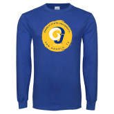 Royal Long Sleeve T Shirt-Angelo State University Ram
